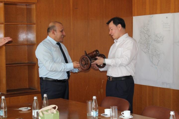 Делегация от Посолството на Китайската Народна Република посети Панагюрище