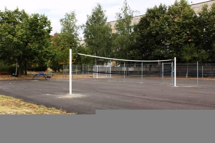 Нова спортна площадка в Панагюрище