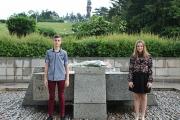 С вой на сирени и поднасяне на цветя Панагюрище почете паметта на Христо Ботев и на героите, загинали за България