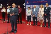 Кметът на община Панагюрище поздрави участниците и гостите в петото издание на 2019 ITTF World Tour Asarel Bulgaria Open